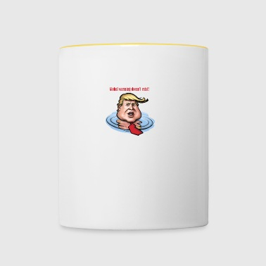 Global Warming Trump - Contrasting Mug