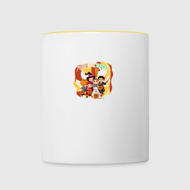 Trick or Treat - Tasse zweifarbig
