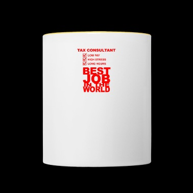 tax consultant - Contrasting Mug