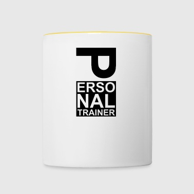 Personal trainer coach - Contrasting Mug