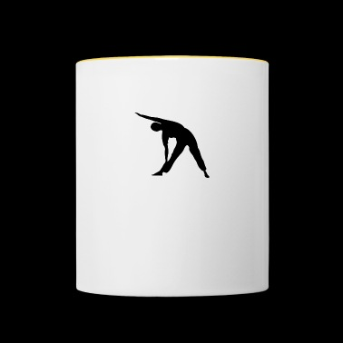 Yoga exercise - Contrasting Mug