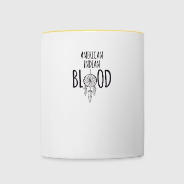 Indians: American Indian Blood - Contrasting Mug