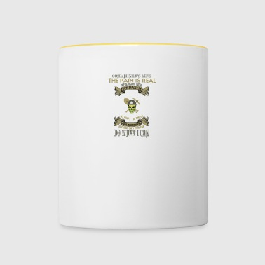 mountain-mining-mining worker-worker-worker-miner - Contrasting Mug