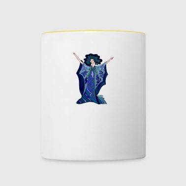 Dancer Illustration - Contrasting Mug