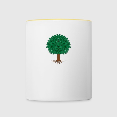 Tree illustration - Contrasting Mug