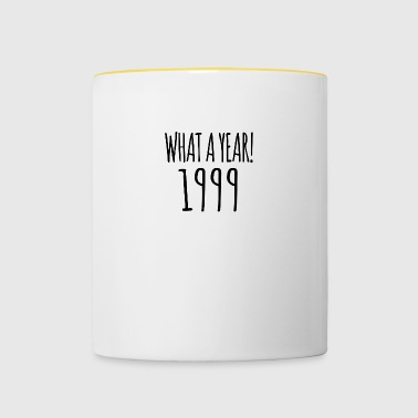 1999 - the year of all years! - Contrasting Mug