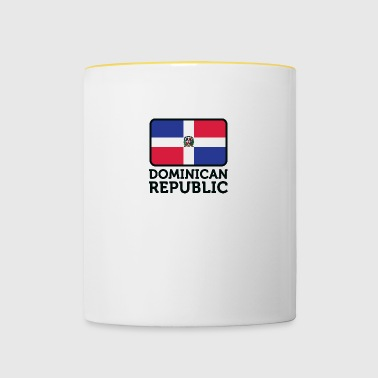 Drapeau national de la République dominicaine - Mug contrasté