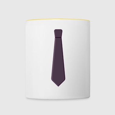 Necktie Gift idea for the day - Contrasting Mug