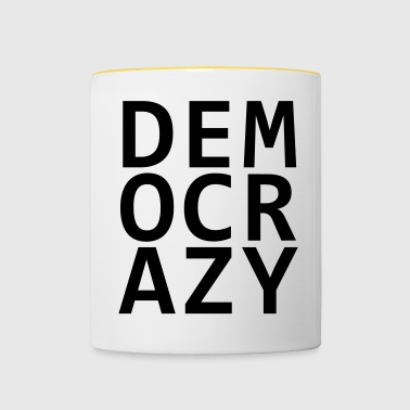 DEMO CRAZY V2 - Mok tweekleurig