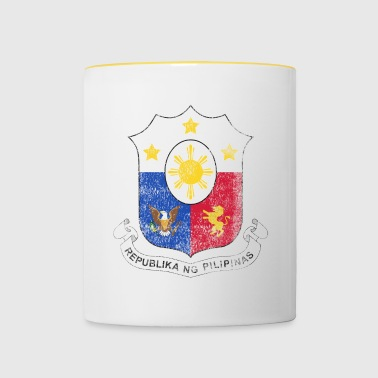 Filipino Coat of Arms Philippines Symbol - Contrasting Mug