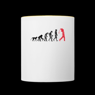 Golf Evolution USED LOOK - Tasse zweifarbig