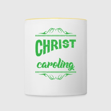 Christmas Caroling Filipino Tradition Holiday - Contrasting Mug