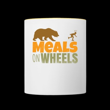 inlineskate - meals on wheels - Contrasting Mug