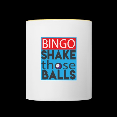Shake Those Ball Funny Bingo Lover Shirt - Tasse zweifarbig