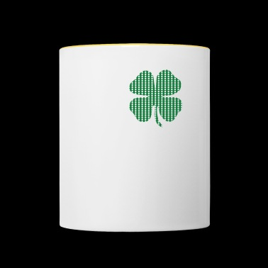 I Shamrock NY Love New York St Patricks Day Clover - Mok tweekleurig