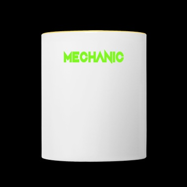 Mécanicien Attention Flying Tools Gift - Mug contrasté