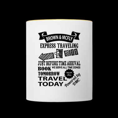 Brown & McFly express traveling - Contrasting Mug