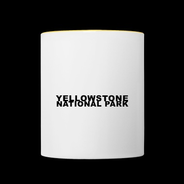 Yellowstone National Park Wilderness Recreation - Contrasting Mug
