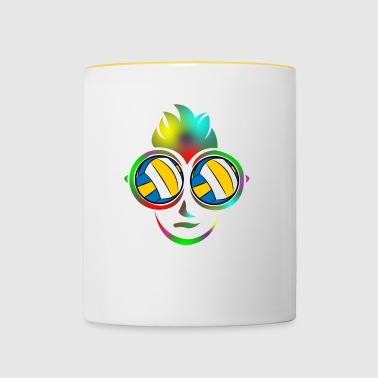 Volleyball beach volleyball holiday beach gift - Contrasting Mug