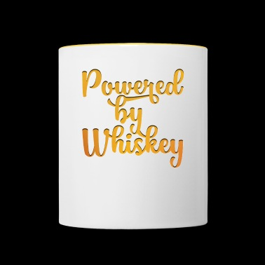 Whisky camiseta - whisky - Scotch - Bourbon - Taza en dos colores