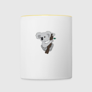 Totally koalafied Accountant - Tasse zweifarbig