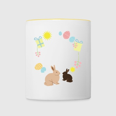 Happy Easter Happy Easter - Contrasting Mug
