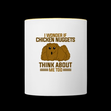Cool Chicken Nuggets - Contrasting Mug