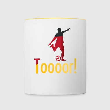 But Allemagne football - Mug contrasté