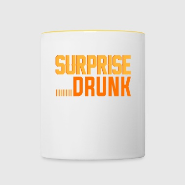 SURPRISE IN THE TRUNK - Contrasting Mug