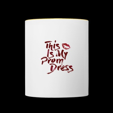 My Prom Dress Tee Shirt - Contrasting Mug