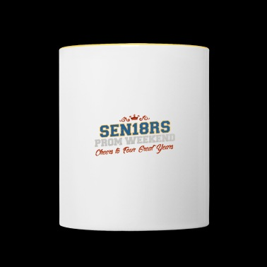 Cool Sen18rs Prom Weekend - Senior Night Shirt - Contrasting Mug