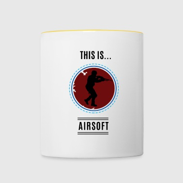 This is ... Airsoft - Contrasting Mug