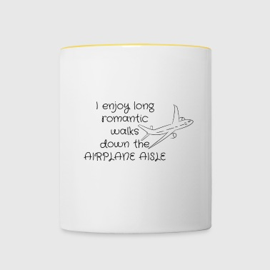 Romantic walks - Contrasting Mug