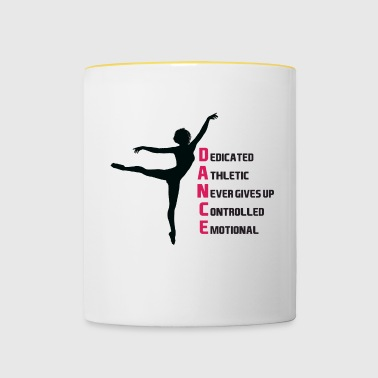 la motivation de la danse - Mug contrasté