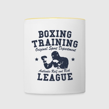 boxing training - Mug contrasté
