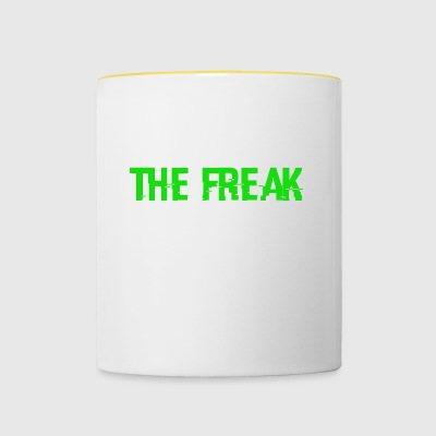 The Freak - Tasse zweifarbig