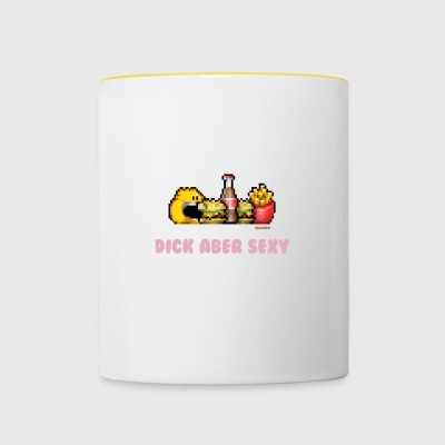 Dick Mais Sexy - Tasse bicolore