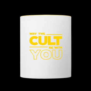 MAY THE CULT BE WITH YOU - Contrasting Mug