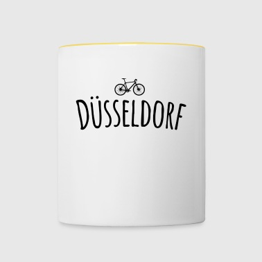 Bicycle Düsseldorf - Contrasting Mug