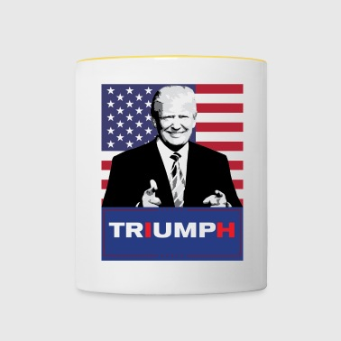 Trump shirt - Mok tweekleurig