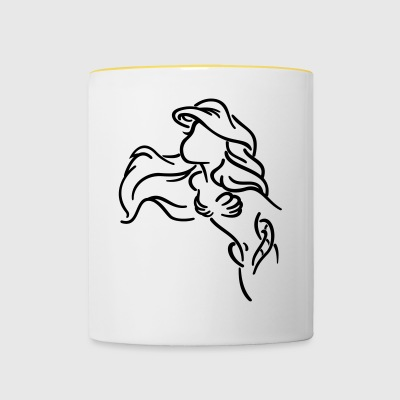 Mermaid - Contrasting Mug