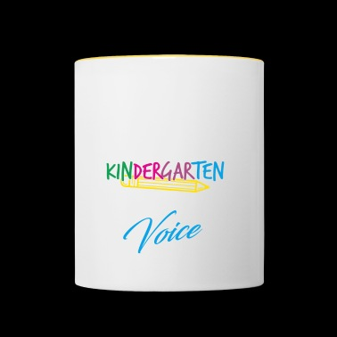 Educator Shirt · Educator · Kindergarten Kids - Contrasting Mug