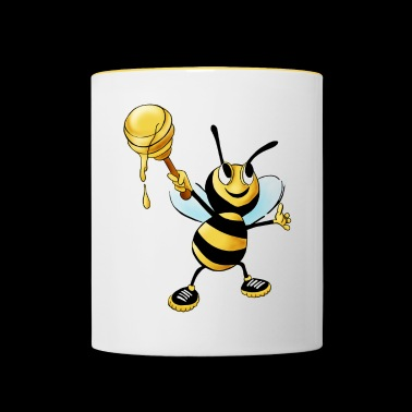 honey bee - Contrasting Mug