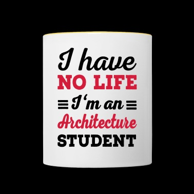 architecture - Contrasting Mug