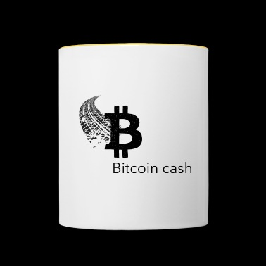 Bitcoin Cash - Mok tweekleurig