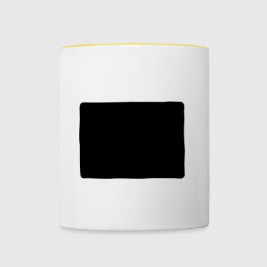 forme rectangle - Mug contrasté