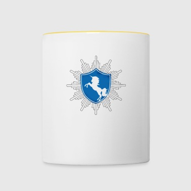 Coat of arms unicorn official - Contrasting Mug