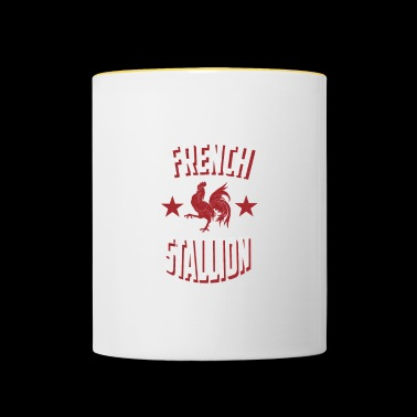 French Stallion - Contrasting Mug