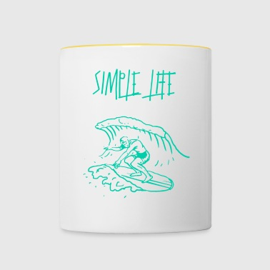 Simple Simple surf - Mug contrasté