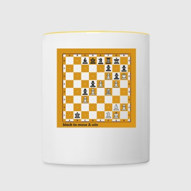 World Chess Championship - Contrasting Mug
